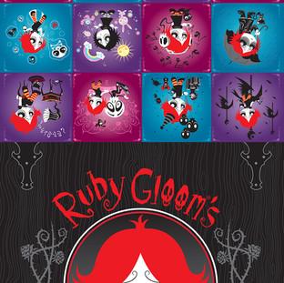 Ruby Gloom Calendar 2005