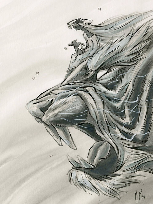 Spirit Animals - Tiger Print