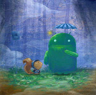 Android Totoro
