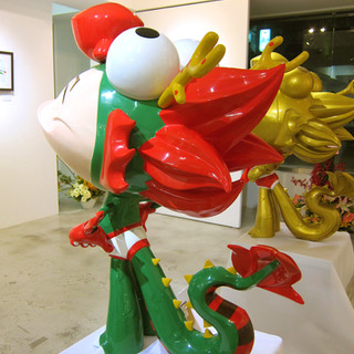 Dragon Boy Life-size Sculpture