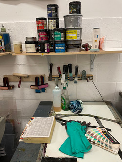 Ink Mixing Station