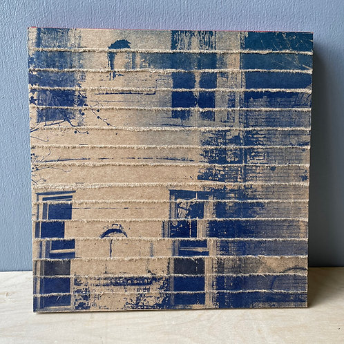 Artist Book 🔴 House Layers 🔵 Deconstructed Printed Book