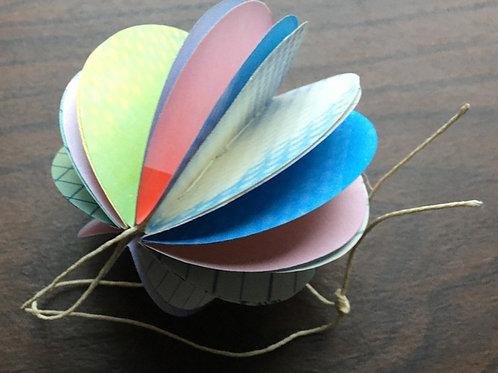 Handmade Book Ornament