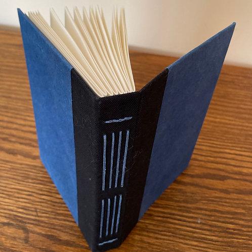 💎All Blue💎 Handmade Journal with Decorative Binding