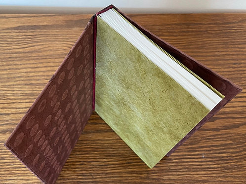 Earthtones Polkadot Handmade Journal