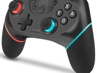 Wireless Controller for Switch, YCCTEAM Switch Pro Controller with Dual Shock for Nintendo Switch
