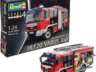 Revell 07452 MAN/Schlingmann HLF 20 Varus Model Kit