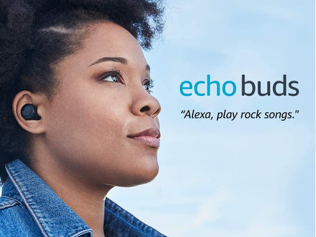 Introducing Echo Buds   Wireless earbuds with immersive sound, active noise reduction and Alexa