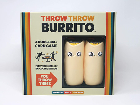 Throw Throw Burrito by Exploding Kittens - A Dodgeball Card Game - Family-Friendly Party Games