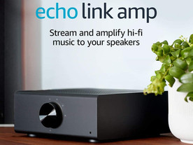 Echo Link Amp | Stream and amplify hi-fi music to your speakers (requires compatible Echo device)