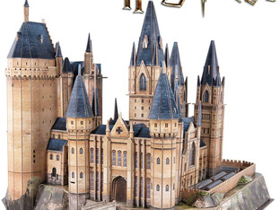 CubicFun 3D Jigsaw Puzzles Harry Potter LARGE Astronomy Tower Hogwarts Collectables