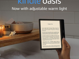 Kindle Oasis | Now with adjustable warm light | Waterproof, 8 GB, Wi-Fi