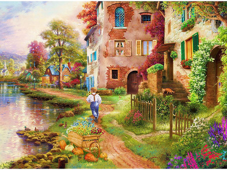 Jigsaw Puzzles for Adults 1000 Pieces - Garden