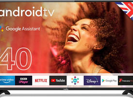"""Cello ZG0204 40"""" Smart Android TV with Freeview Play, Google Assistant, Google Chromecast, 3 x HDMI"""