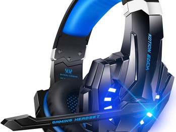 BENGOO G9000 Stereo Gaming Headset for Gaming, Noise Cancelling Over Ear