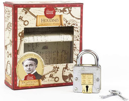 Professor Puzzle Great Minds, Houdinis Escapology Brain Teaser Puzzle - High quality 3D