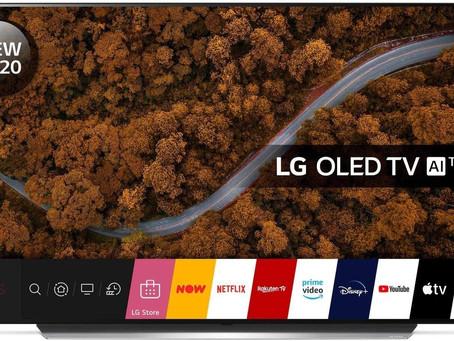 """LG OLED55CX5LB 55"""" 4K Ultra HD OLED Smart TV [Energy Class A]"""