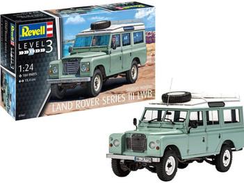 Revell RV07047 1:24 - Land Rover Series III Plastic Model kit, Multicolour, 1/24