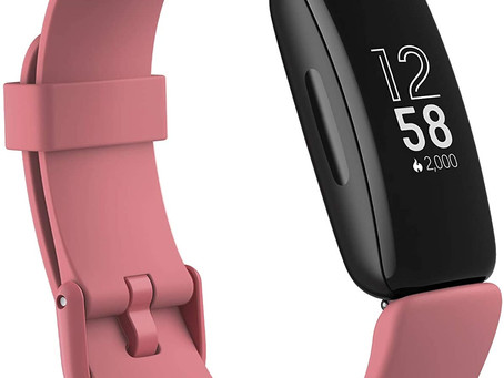 Fitbit Inspire 2 Health & Fitness Tracker with a Free 1-Year Fitbit Premium Trial, 24/7 Heart Rate