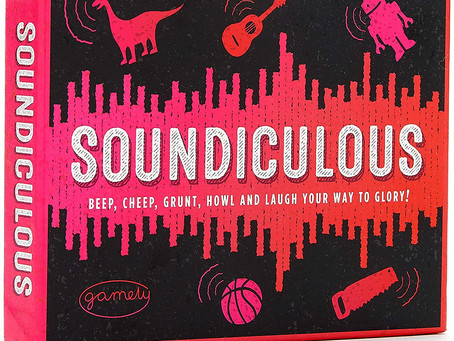 Soundiculous: Hilarious Pocketsize Party Game of Ridiculous Sounds That Gets The Family Laughing