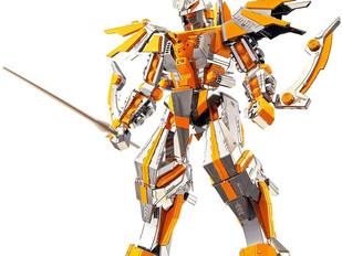 Piececool 3D Metal Model Kits - Crescent Blade Armor DIY 3D Metal Jigsaw Puzzle
