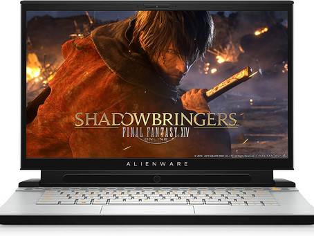 Alienware m15 R2 15.6-Inch FHD 144Hz Tobii Eye-Tracking Gaming Laptop - (Lunar Light) Intel Core i7