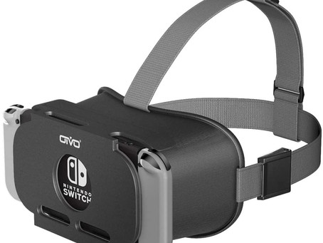 OIVO VR Headset for Nintendo Switch, 3D VR Virtual Reality Goggles, VR Glasses for Nintendo Switch