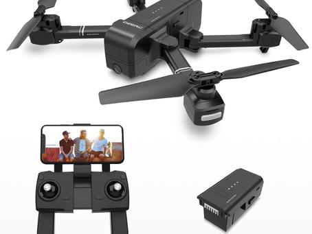 DEERC DE25 Drone with Camera 1080P HD Camera Drone FPV Live Video and GPS Auto Return RC Quadcopter