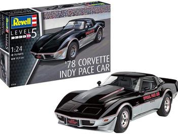 Revell RV07646 '78 Corvette Indy Pace Car 1:24 Plastic Model kit