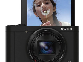 Sony DSC-WX500 Digital Compact High Zoom Travel Camera with 180 Degrees Tiltable LCD Screen