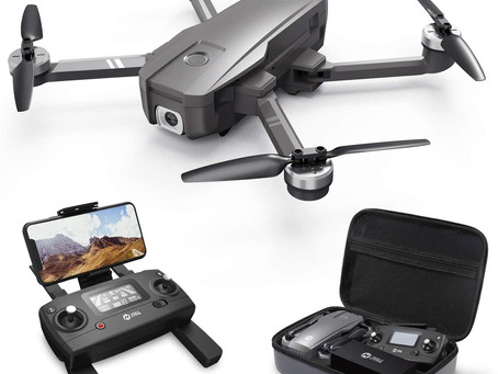 Holy Stone HS720 Foldable GPS Drone with 4K UHD Camera for Adults, Quadcopter with Brushless Motor.