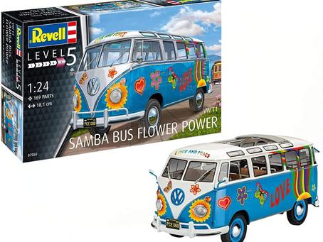 Revell 07050 VW Samba Bus Flower Power Model Kit