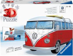 Ravensburger VW T1 Camper Van, 162 Piece 3D Jigsaw Puzzle