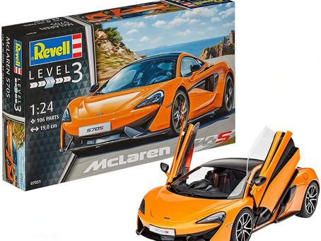 """Revell 07051 """"McLaren 570S"""" Model Kit"""