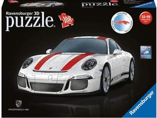 Ravensburger 12528 911 108 Piece 3D Jigsaw Puzzle. Ideal Porsche Gifts