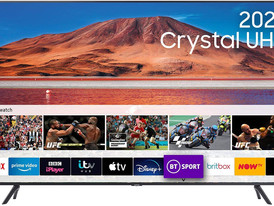 """Samsung 43"""" TU7100 HDR Smart 4K TV with Tizen OS [Energy Class A]"""