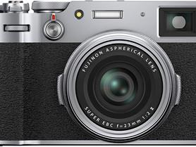 Fujifilm 16642965 X100V Mirrorless Digital Camera, Silver