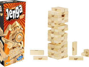 Hasbro Jenga Classic, Family game that promotes the speed of reaction
