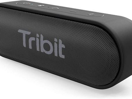 Bluetooth Speaker, Tribit XSound Go 12W Portable Speakers Loud Stereo Sound, IPX7 Waterproof,