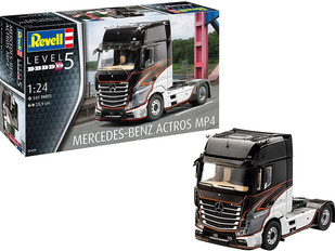 Revell RV07439 Plastic Model kit, Mercedes-Benz Actros MP4 Lorry