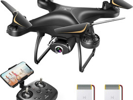 SNAPTAIN SP650 2K Drone with Camera for Adults 2K HD Live Video Camera Drone w/Voice Control