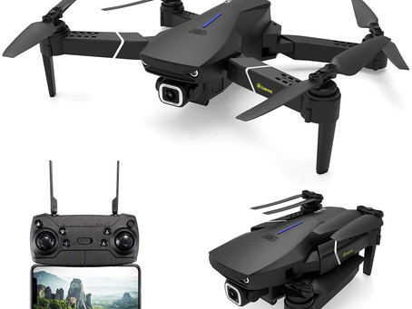 EACHINE E520S GPS Drone with 4k HD Camera for Adults 5G WIFI FPV Live Video Foldable Drone with GPS