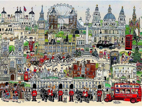 Jigsaw Puzzles for Adults 1000 Piece London Tour Puzzles