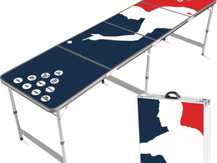 Official Beer Pong Table | Player | Premium Quality | Official Dimensions | Waterproof