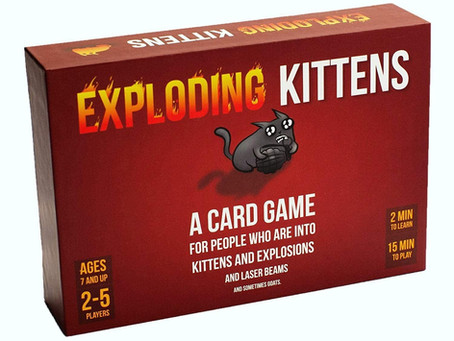 Exploding Kittens Card Game - Family-Friendly Party Games - Card Games For Adults, Teens & Kids