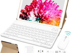 """10"""" Tablet Android 10.0 FACETEL Q3 4GB RAM 64GB ROM Tablet PC Octa-Core Processor 1.6GHz"""