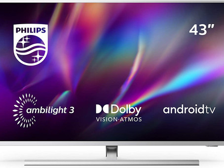 Philips Ambilight 43PUS8545/12 43-Inch LED TV (4K UHD, P5 Engine, Dolby Vision, Dolby Atmos, HDR 10+