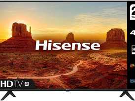 HISENSE 43A7100FTUK 43-inch 4K UHD HDR Smart TV with Freeview play, and Alexa Built-in (2020 series)