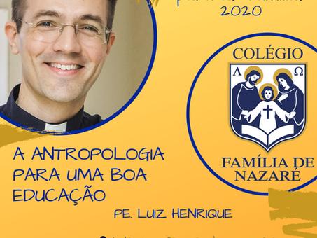 """""""Atividade para as famílias"""" do mês de fevereiro com o Pe. Luiz Henrique"""
