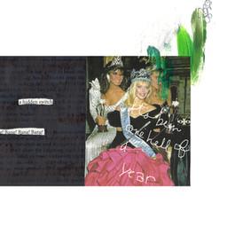 Spread from my zine, American Bleach Drinker Vol. 2